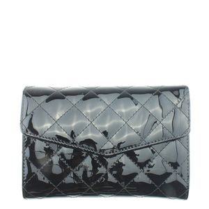 Street Level Black Quilted Crossbody Bag 167684